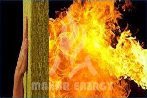 آیا پشم سنگ آتش می گیرد پشم سنگ ضد حریق