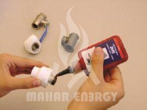 طرز استفاده از تفلون مایع